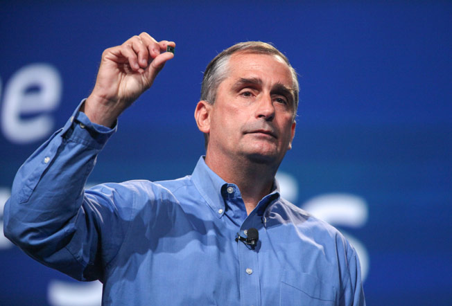 The head of Intel: people are less likely to update computers