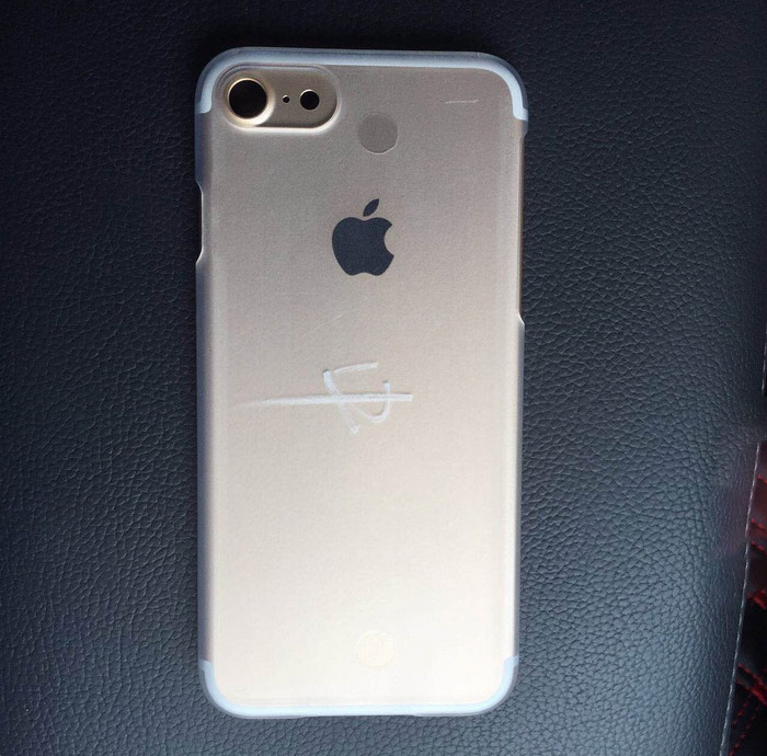 iPhone 7 the speaker is a 3.5 mm audio Jack on live photos
