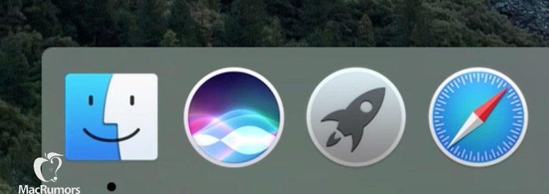 Blab Apple's Siri: voice assistant Apple appears on Mac