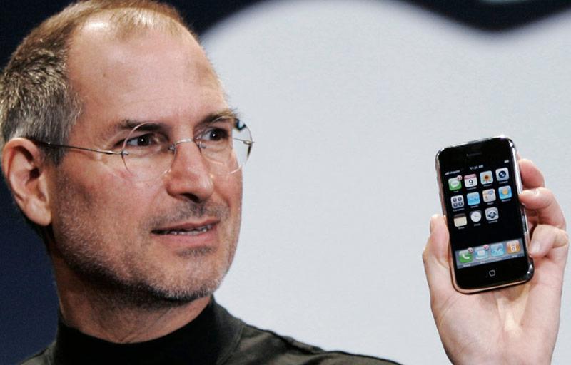 When there was the first hearing on the development of the iPhone?