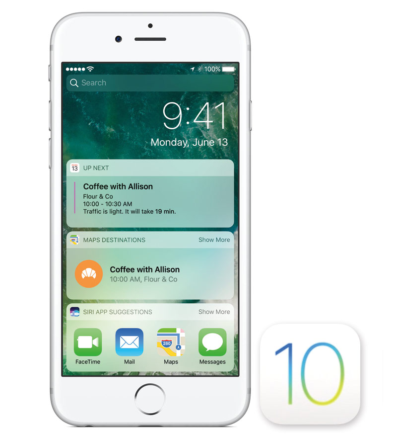 30 iOS 10, which are silent Apple