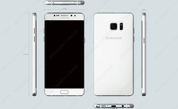 Samsung Galaxy Note 7 will be released a month before the release of iPhone 7: first video