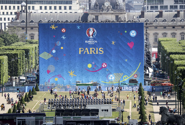 France before Euro 2016 launched a mobile application that notify you about possible terrorist attacks