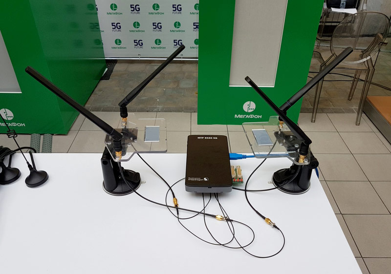 MegaFon achieved data transmission speeds of 1.24 Gbps in 5G network