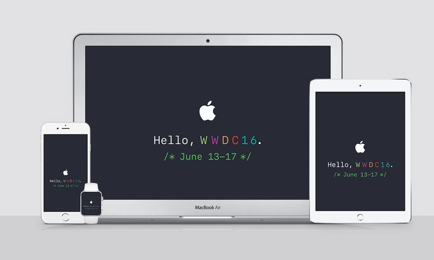 New information on 2016 WWDC: no hardware innovations, updated design iOS 10, new features Siri