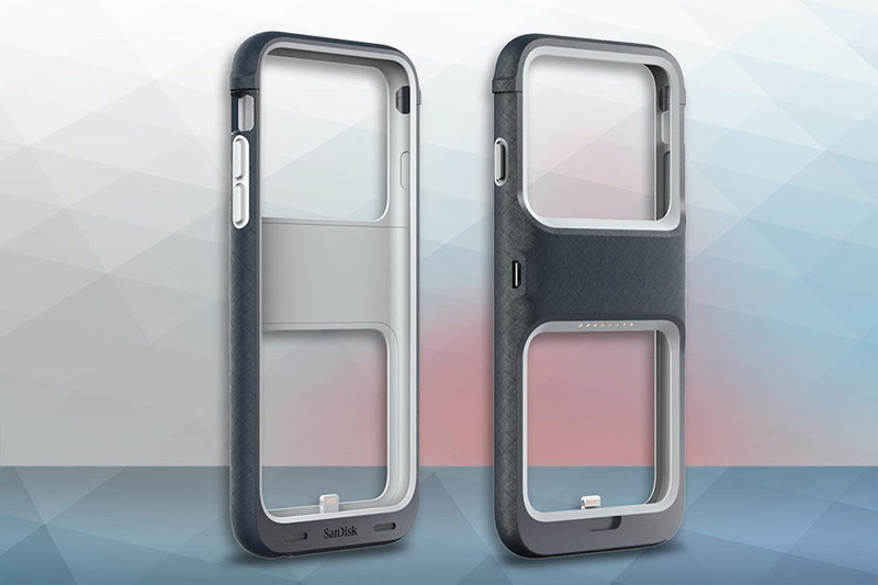 SanDisk has introduced a case for iPhone that allows you to expand the memory to 128GB [video]