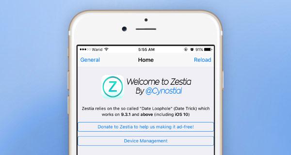 How to install on iOS store Zestia – analog devices Cydia without jailbreak