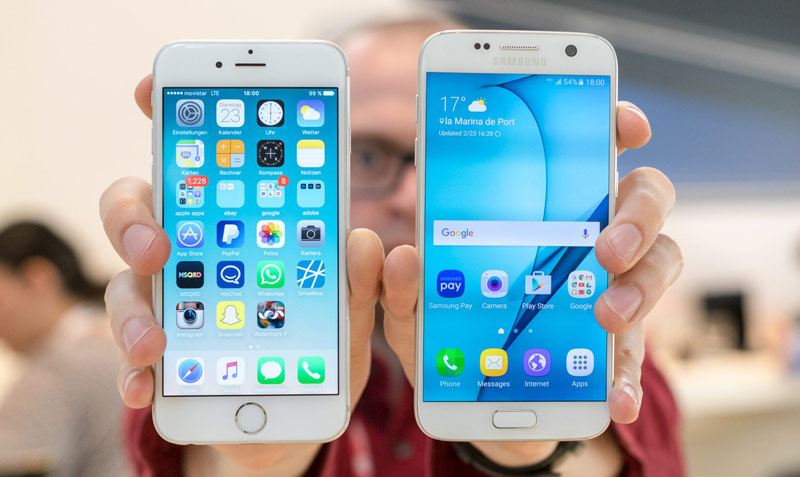 iPhone 6s are sold in Russia twice is better than Samsung Galaxy S7