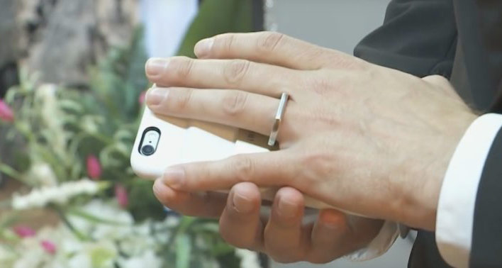 Till death do us part: an American married to your iPhone [video]