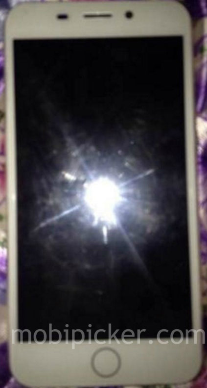 The photo was lit 7 iPhone touch Home button