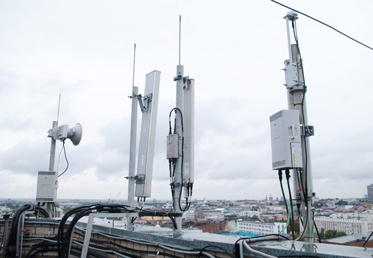 MTS dispersed network LTE up to 150 Mbps