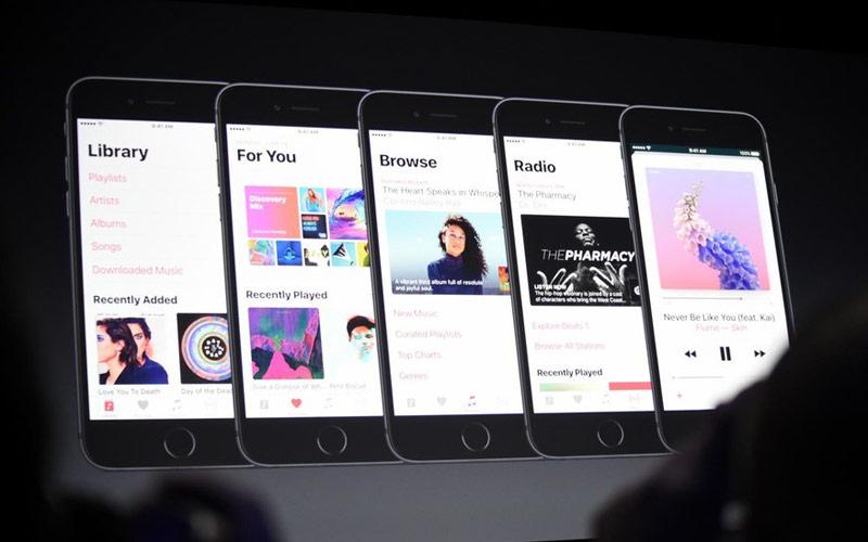 iOS 10 and the new design language Apple