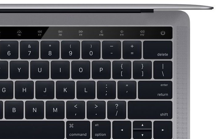 Several practical scenarios of using OLED panels in the new MacBook Pro