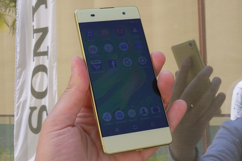 Sony announced the Russian prices for smartphones Xperia X, XA and X Performance