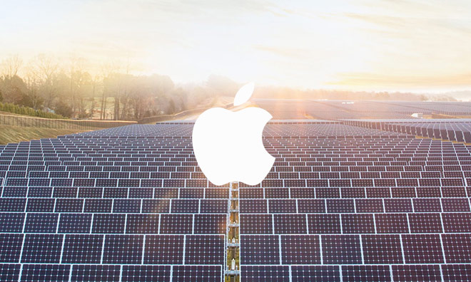 Apple intends to sell the excess energy the solar panels from the roof of the headquarters