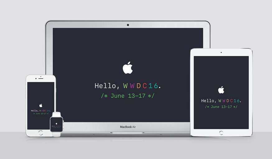 Apple confirms WWDC 2016 Monday 13 June at 20: 00 Moscow