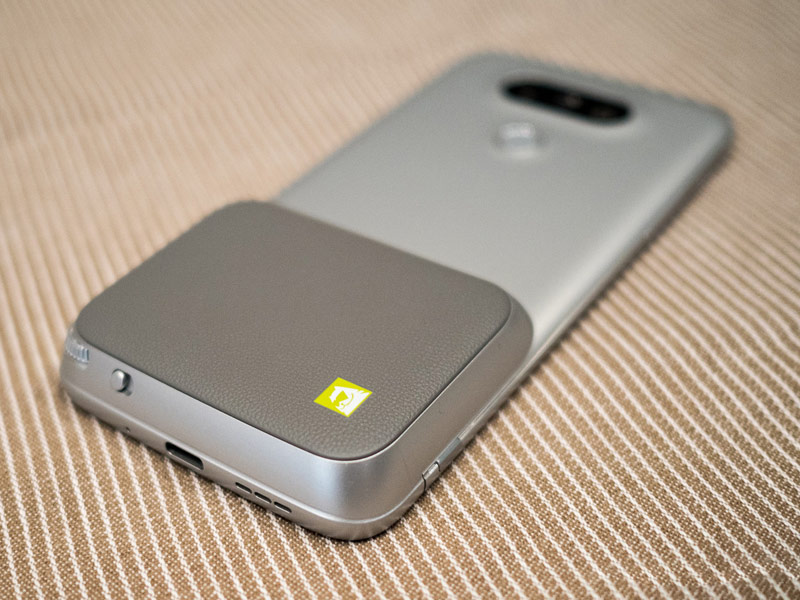 Plug-in modules for the flagship LG G5 became available in Russia