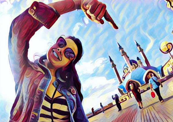 Popular Prisma photo app will process the video
