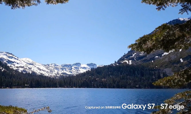 Samsung responded to Apple is a video Shot on a Galaxy S7""