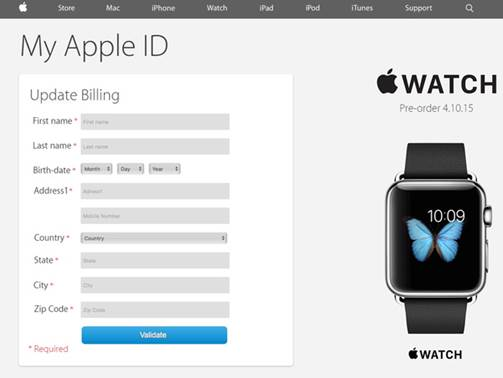 Crooks lure the passwords from the Apple ID, informing about the virus in the database, iTunes