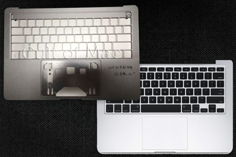 The network got photos of the new MacBook Pro generation with the OLED display instead of the function keys