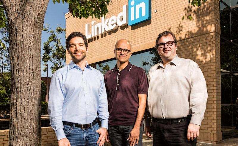 Microsoft buys social network LinkedIn for $26.2 billion