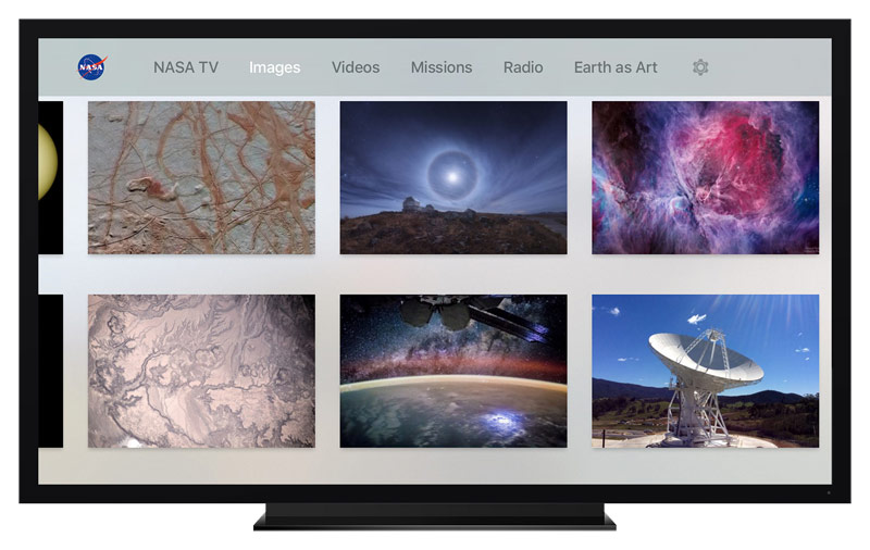 Live broadcast from the ISS on Apple TV: around the world in 90 minutes