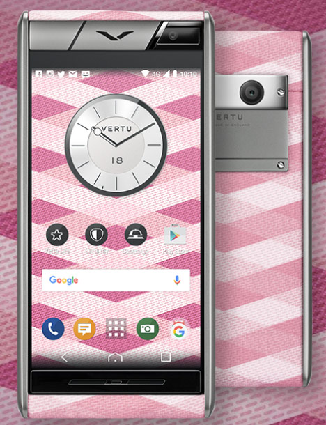 Vertu introduced in Russia affordable smartphone for 300 000 rubles