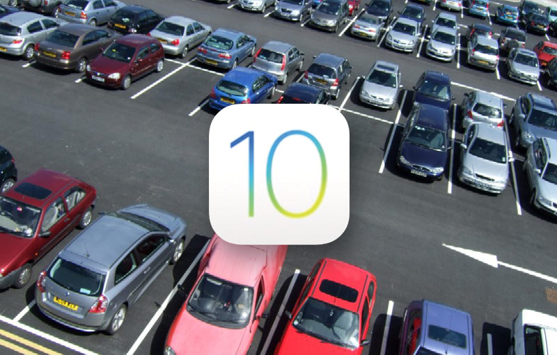 iOS 10 will solve the problem with finding the car in the Parking lot