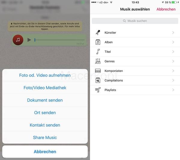 WhatsApp is preparing a big update: share music mention enlarged emojis