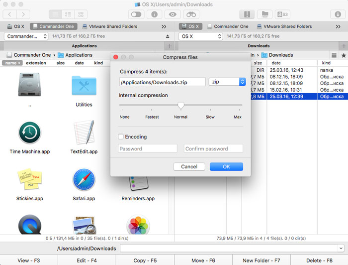 One Commander: powerful file Manager for Mac with the FTP client, archiver and access to cloud storage [+5 promo]
