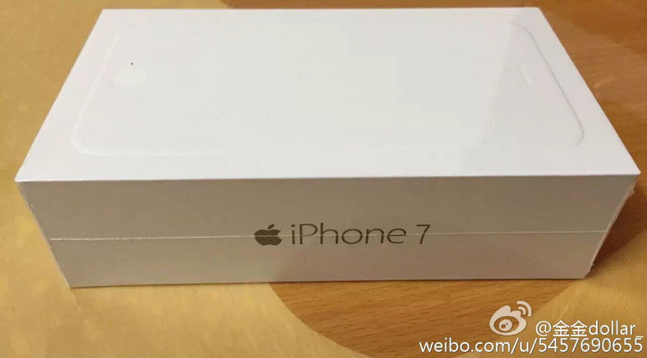 In the network appeared the image of the retail package iPhone 7 with 256 GB of memory