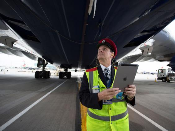 As iPad changed the working British Airways