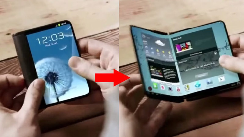 Media: Samsung will introduce two smartphones with bendable screen at the beginning of 2017