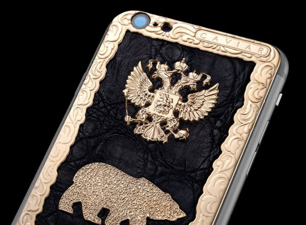 """In Russia presented a collection of luxury iPhone 6s and Apple Watch for the supporters of """"United Russia"""""""