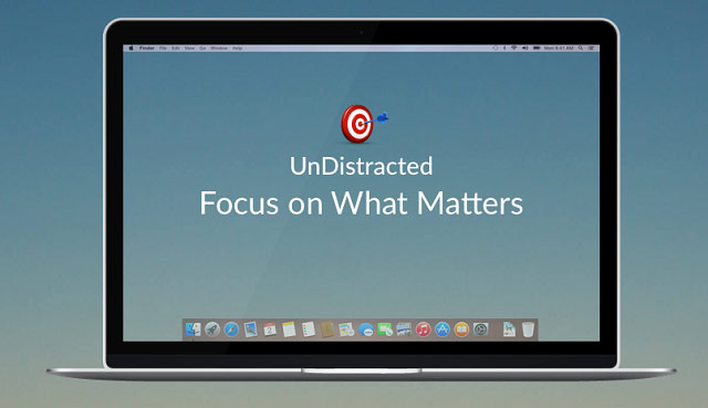 UnDistracted: application for Mac that helps you focus and work productively [+10 promo]