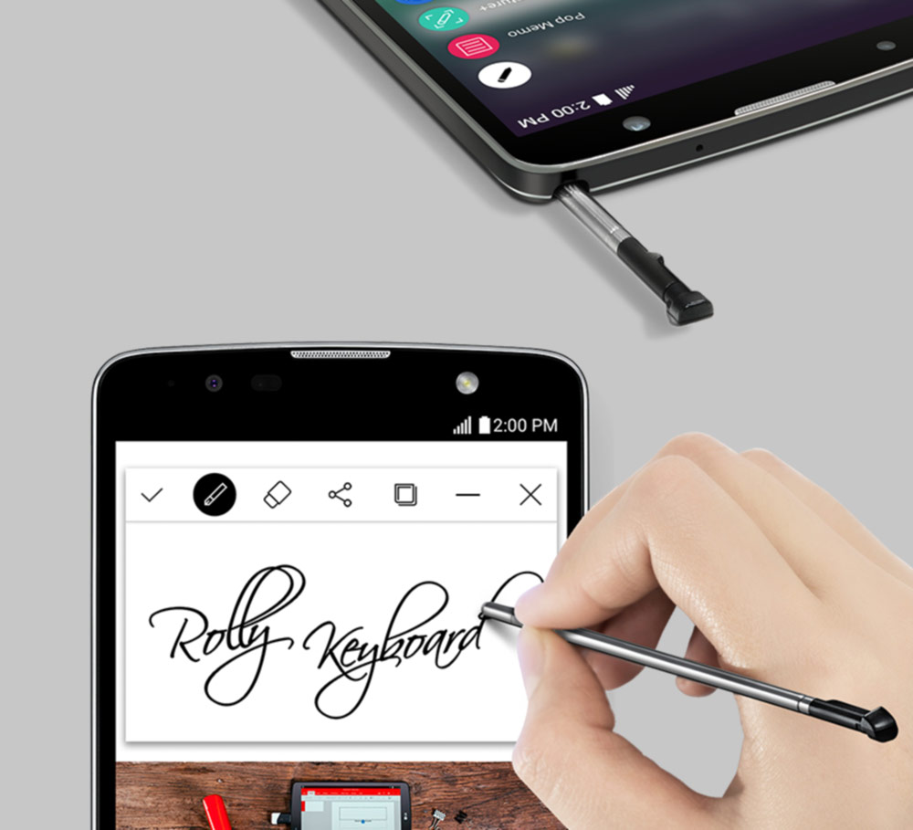 Smartphone with a 5.7-inch screen Plus 2 LG Stylus officially presented