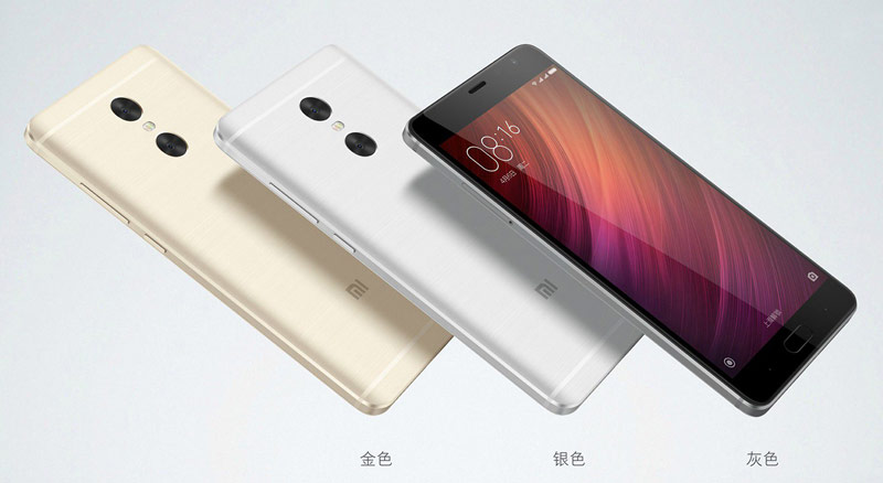 Presented smartphone Xiaomi Redmi Pro: dual camera, OLED display, battery 4050 mAh