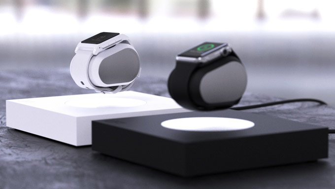 Wireless charging makes the Lift to levitate the Apple Watch [video]