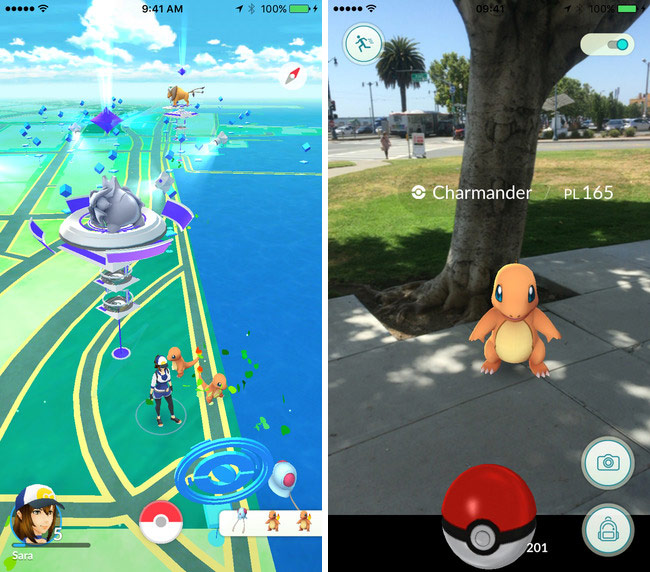 Came the first big update Pokemon Go: setting up avatars, new interface, improved performance