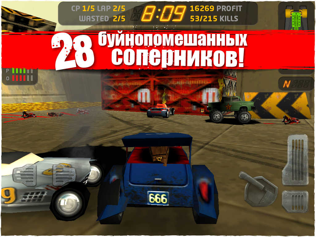 Racing classic Carmageddon temporarily became free