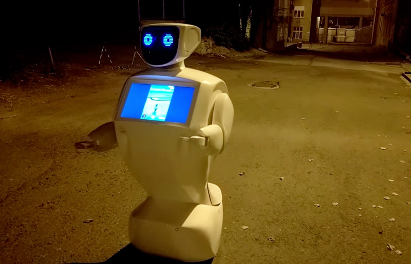 The inhabitant of Kuzbas has sent a robot to catch pokemon instead of herself [video]