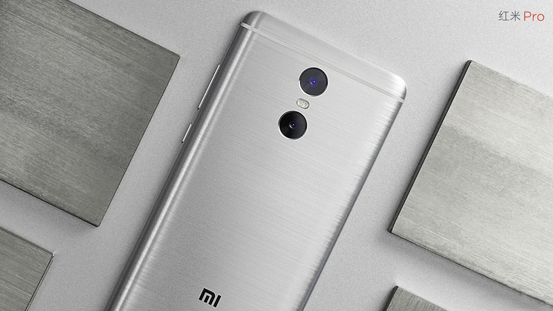 Presented smartphone Xiaomi Redmi Pro: dual camera, OLED display, battery 4050 mAh