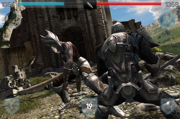 Infinity Blade II cost 299 rubles temporarily became free