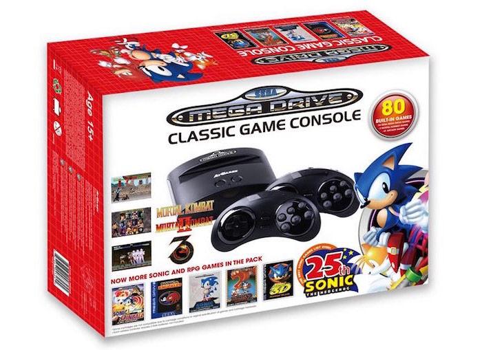 "Sega and Nintendo ""revived"" retro Mega Drive and NES"