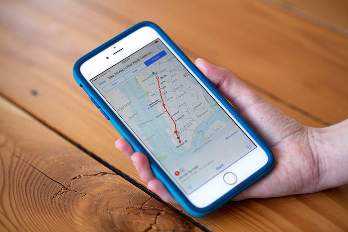 Apple added in iOS 10 routes of public transport for residents of Japan
