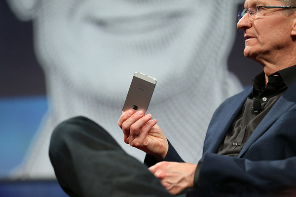 According to Tim cook, people harder to do without smartphones