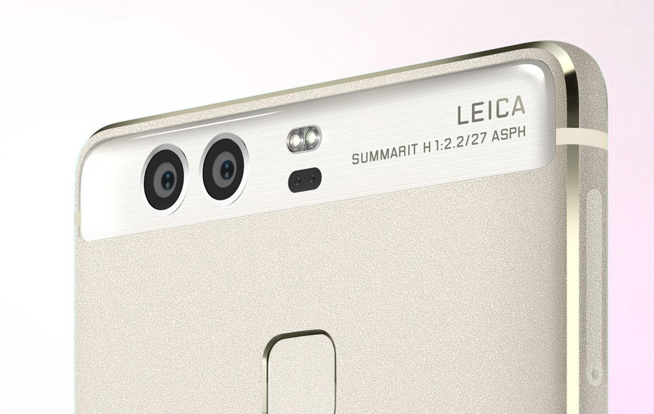 Huawei has given the professional Canon camera for a photo with the flagship Huawei P9