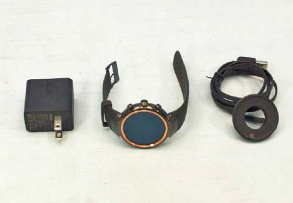 Asus Zenwatch 3: first photo of a smart watch with round screen