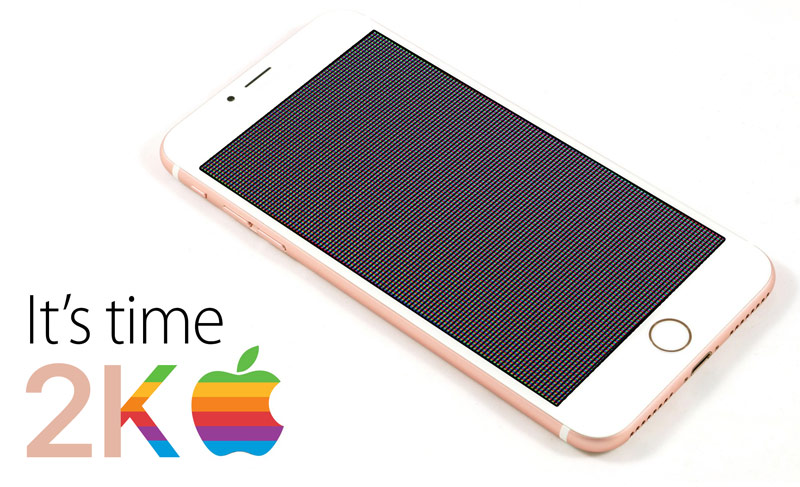 Apple goes to 2K: 5.5-inch iPhone 7 Plus will get a display with a resolution of 2560 x 1440 pixels